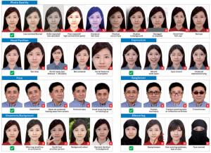 Требования к фотографии на визу в Китай