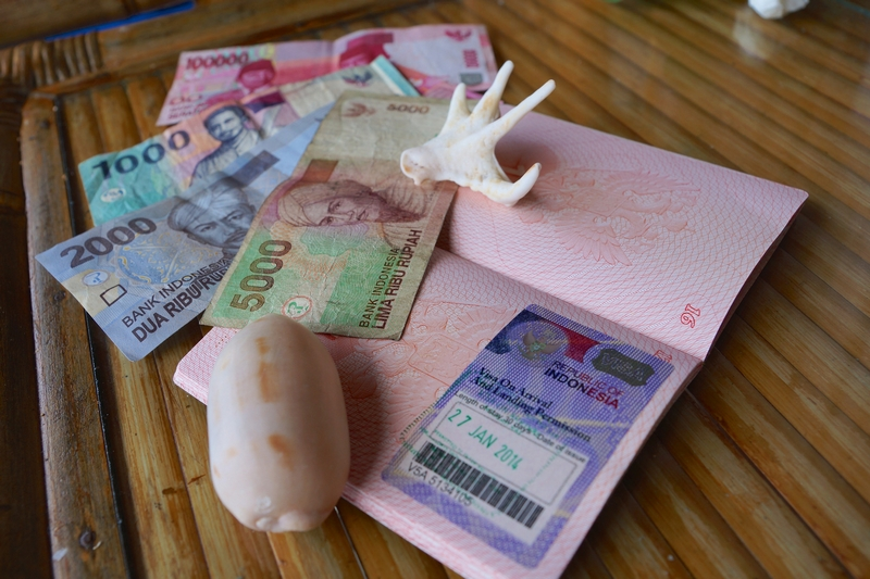 Туристическая виза в Индонезию по прилете