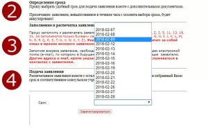 Регистрация визита в посольство Польши в Москве: шаг 4