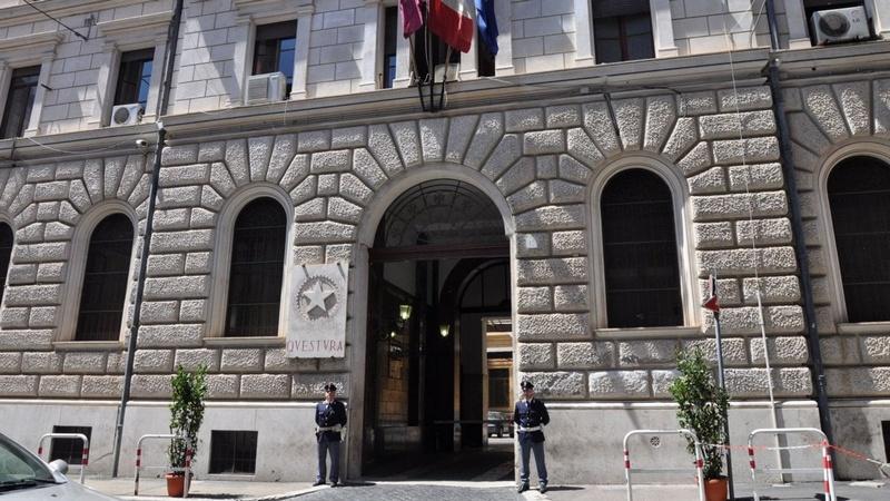 Отделение полиции (Questura) в Риме