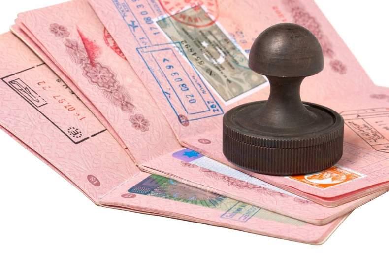 паспорт и штамп