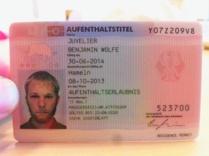 Как получить вид на жительство в германии 2013 дом в аликанте дубай купить