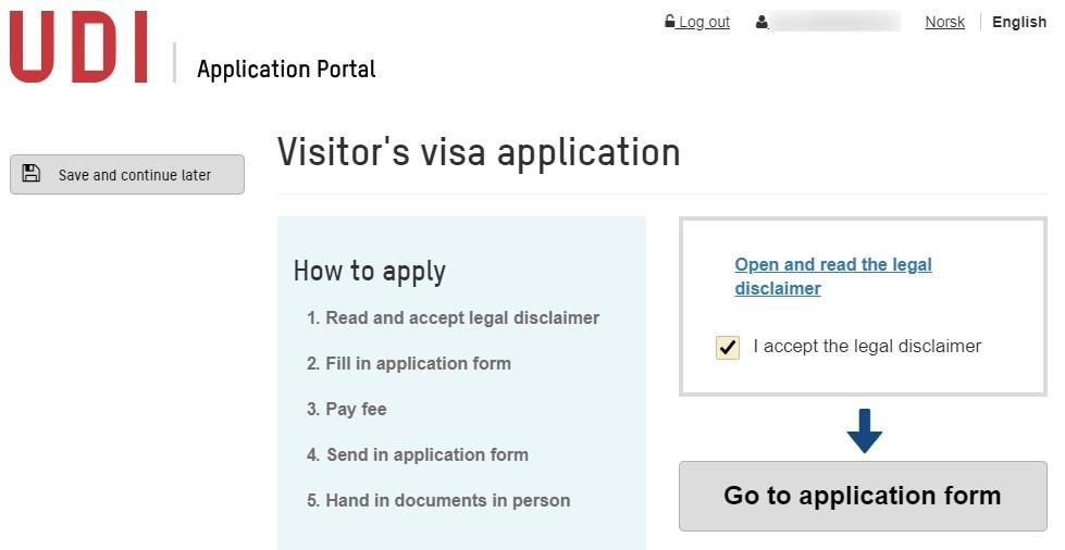 Анкета на визу в Норвегию 9