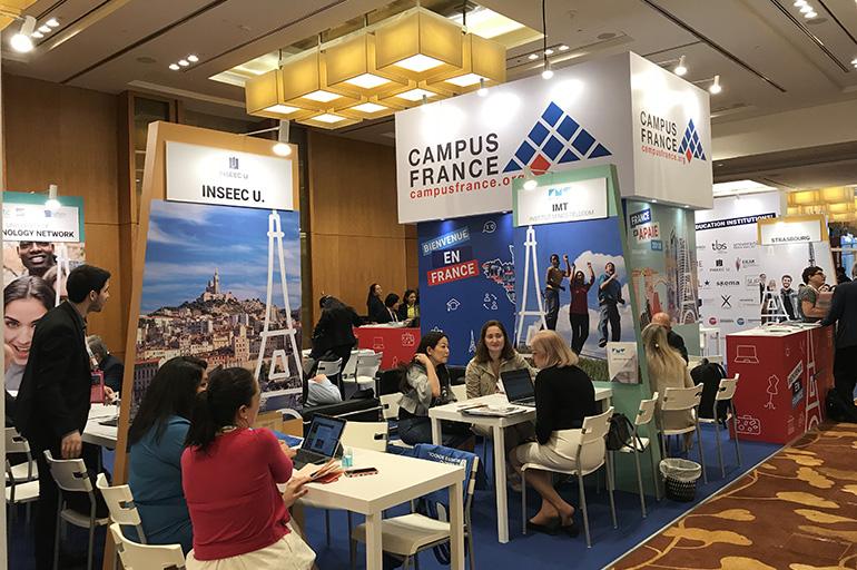 Собеседование проходит в Campus France