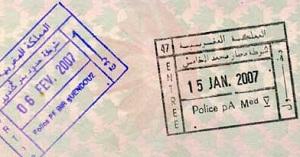 morocco-visa-shtamp