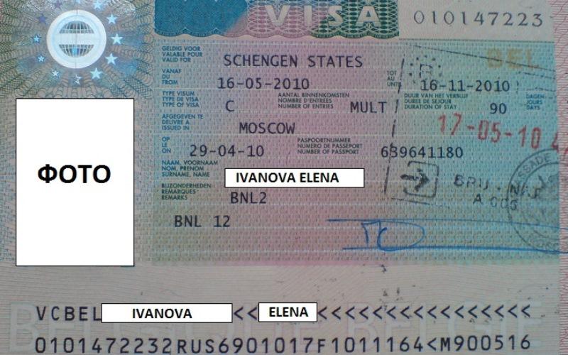 Шенгенская виза в Бельгию для россиян (1)